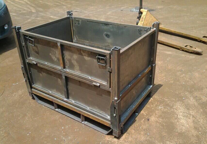 定制钢制料箱